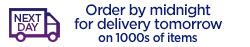 Order by midnight for delivery tomorrow