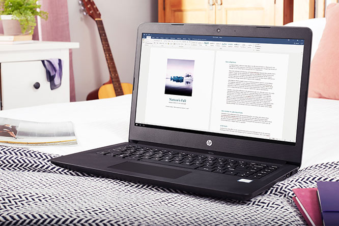 "HP 14"" Laptop with 1TB storage"
