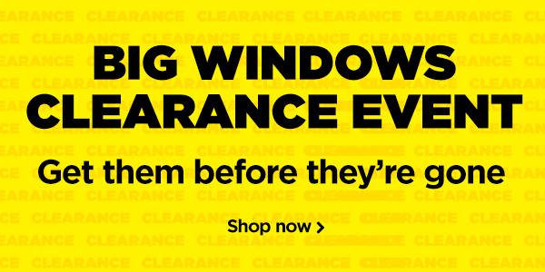 Windows Clearance