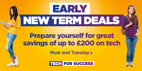 Early new term deals