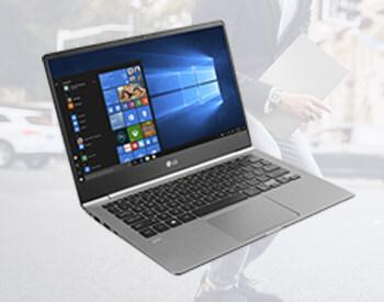 Save £350 on LG Gram laptops