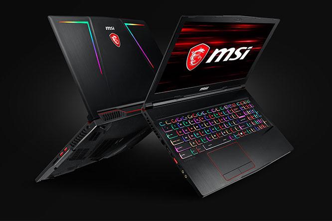"""MSI Raider GE63 15"""" laptop"""