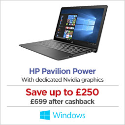 HP Pavilion Power with dedicated Nvidia graphics