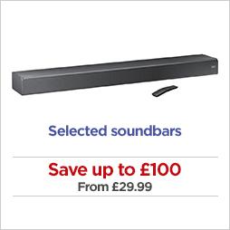 Save on soundbars