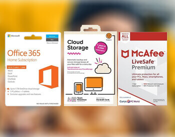 Microsoft Office 365, Cloud and McAfee Livesafe