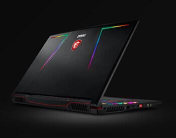 MSI GE63 gaming laptop