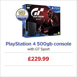 Playstation 4 500gb console with GT Sport