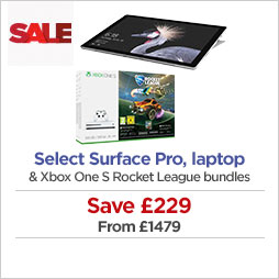 Save £229 on selected Surface Pro or laptop and select Xbox One S bundles