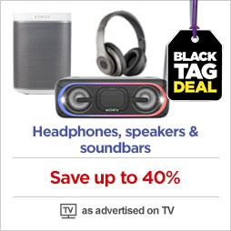 Save on headphones, speakers & soundbars