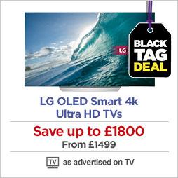 LG OLED Smart 4k Ultra HD TVs