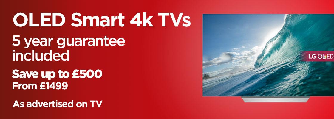 OLED Smart 4k TVs