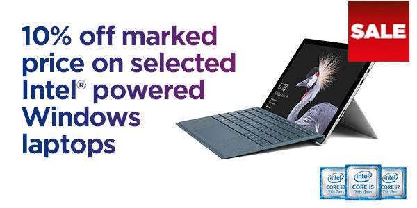 Save on Windows laptops