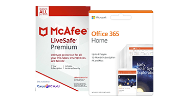McAfee LiveSafe Premium & Office 365 Home