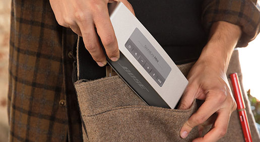 Easy mobile listening with a compact design