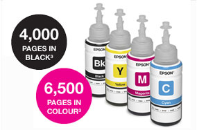 HIGH-VOLUME INK BOTTLES, ULTRA LOW-COST PRINTNG