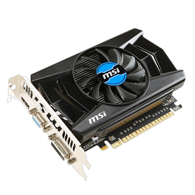 MSI 2 GB GeForce GTX 750Ti Graphics Card