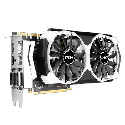 MSI 4 GB NVIDIA GeForce GTX 970 OC PCIe Graphics Card
