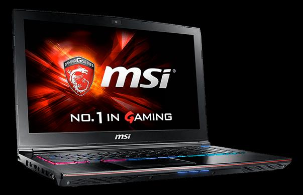 MSI Apache Pro GE62 2QF Gaming Laptop