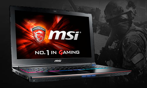 MSI Apache Pro GE62 Gaming Laptop