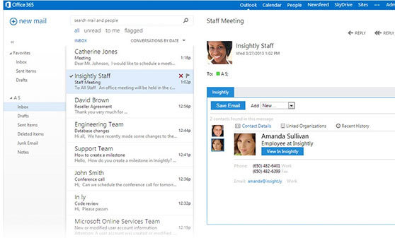 Microsoft Outlook Screenshot