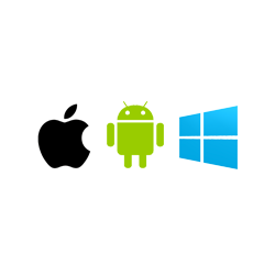 Apple, Android, Windows