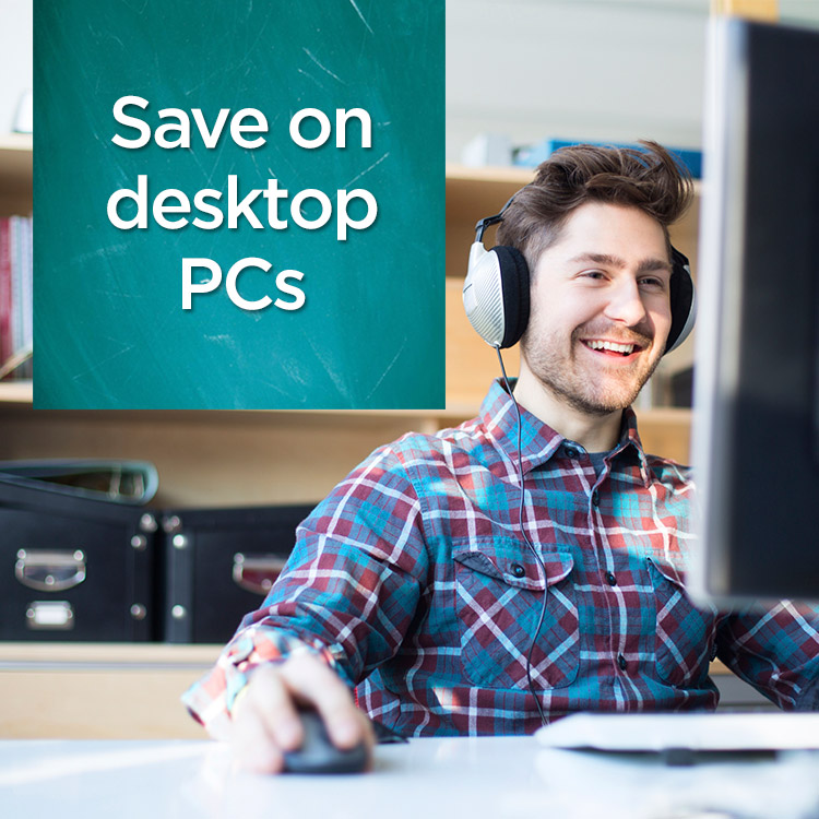 Save on desktop PCs