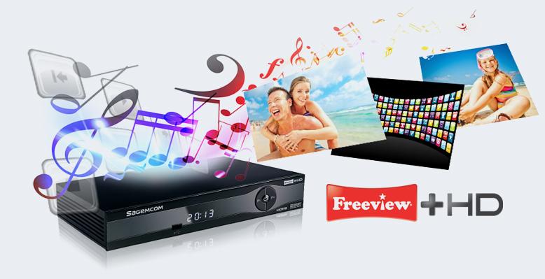 Sagemcom Freeview+ HD