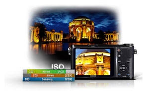 Wide Range ISO for perfect exposure