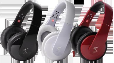 Goji headphones by Tinchy Stryder