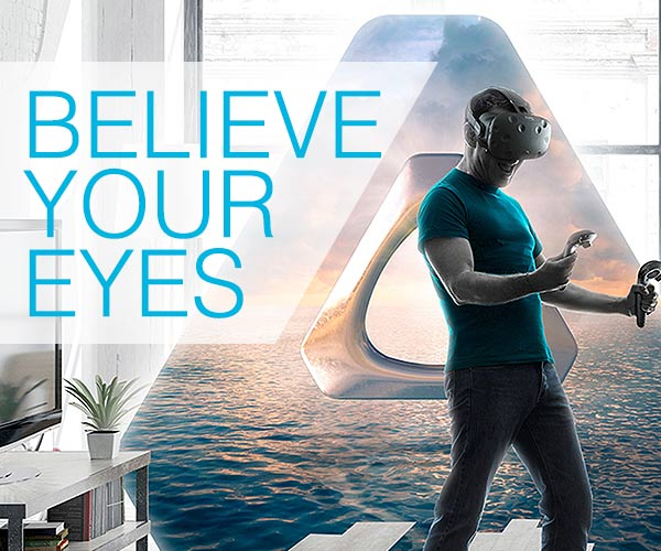 Vive Virtual Reality by HTC - Believe your eyes