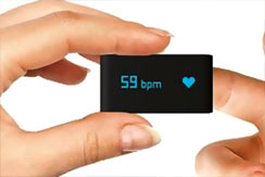 Measuring heart rate in a heartbeat.
